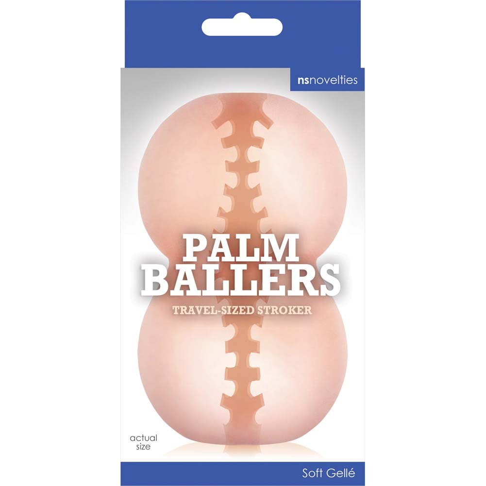 NS Novelties Palm Baller Male Stroker Masturbator Flesh - View #1