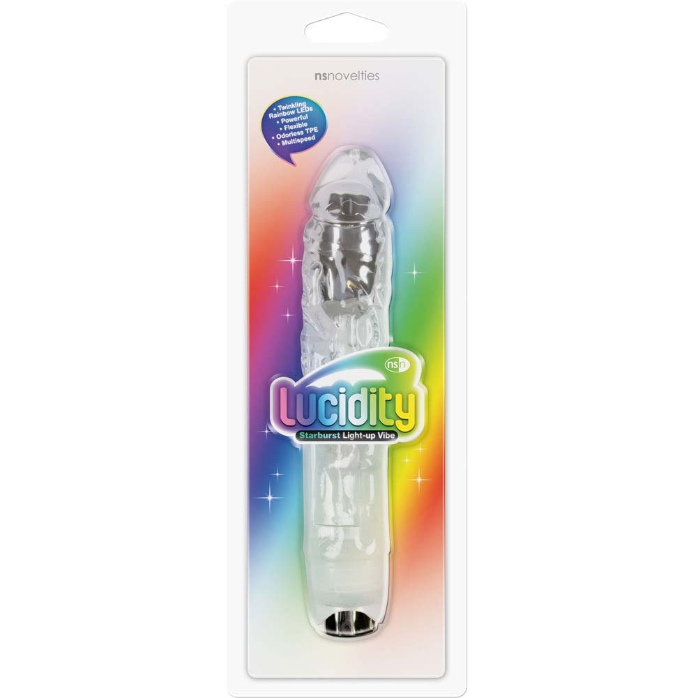 NS Novelties Lucidity Light Up Vibe8.75 Starburst - View #1