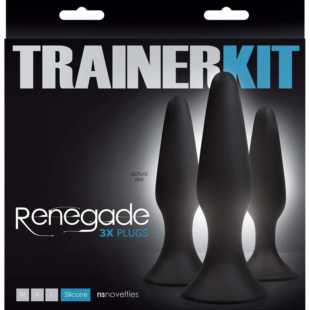 NS Novelties Renegade Sliders Trainer Kit Black - View #1