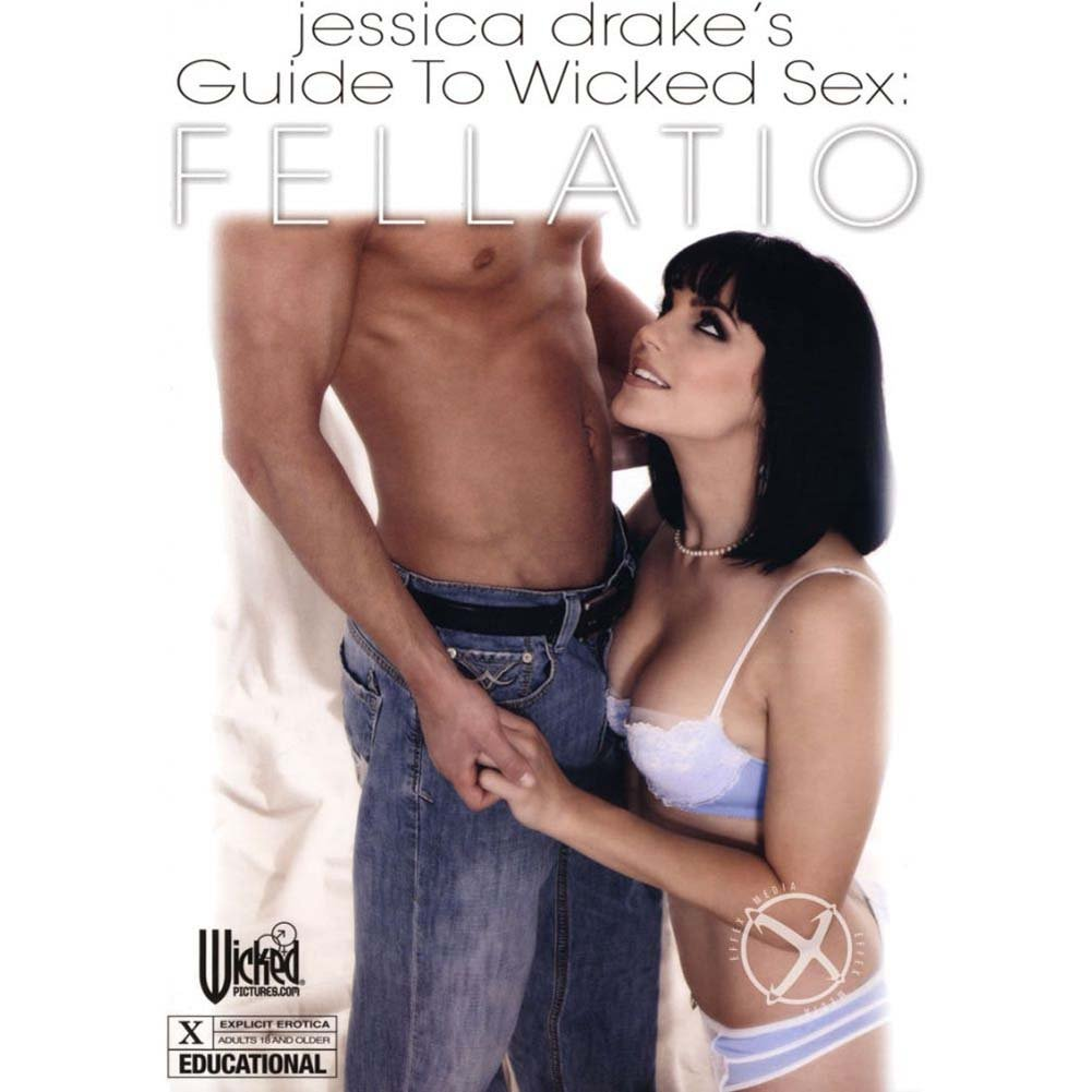 Jessica Drake Guide To Wicked Sex Fellatio DVD - View #2