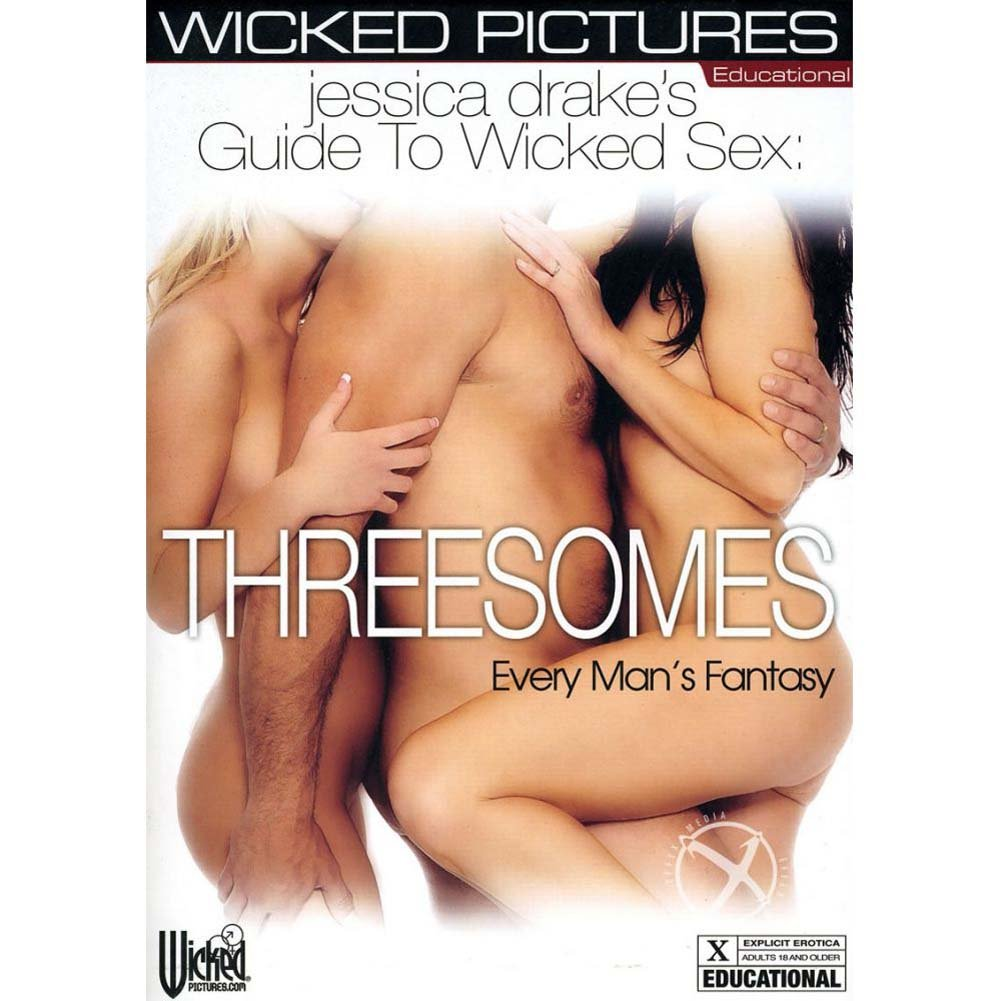 Jessica Drake Guide To Wicked Sex Threesomes DVD - View #2