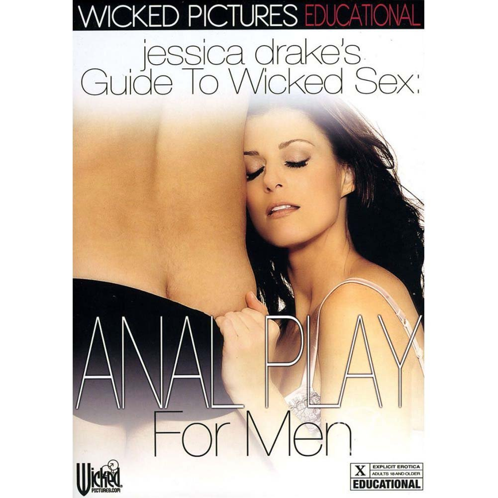 Jessica Drake Guide To Wicked Sex Anal Play for Men DVD - View #1