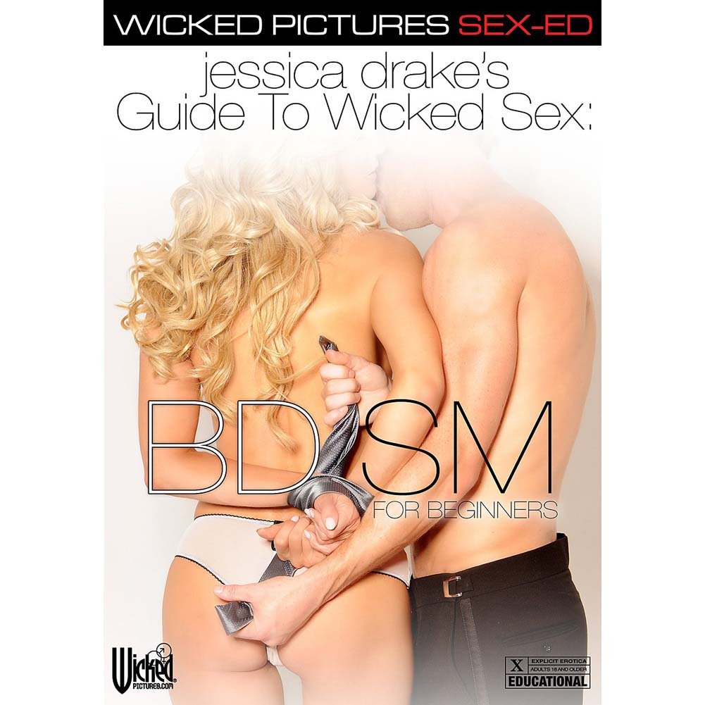 Jessica Drake Guide To Wicked Sex BDSM DVD - View #1
