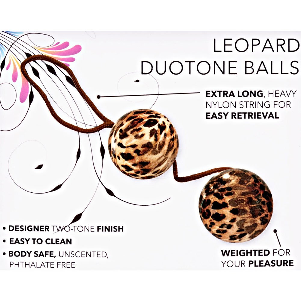 Duotone Orgasm Balls Leopard 1.25 - View #1