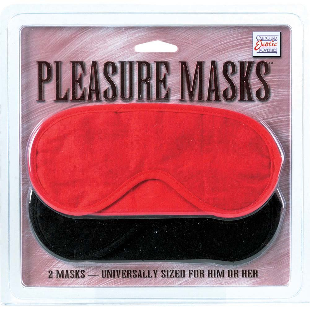 California Exotics Pleasure Masks 2 Pack - View #1