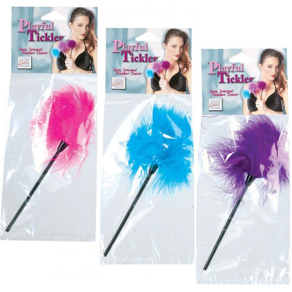 California Exotics Playful Tickler Assorted Colors 9 - View #1