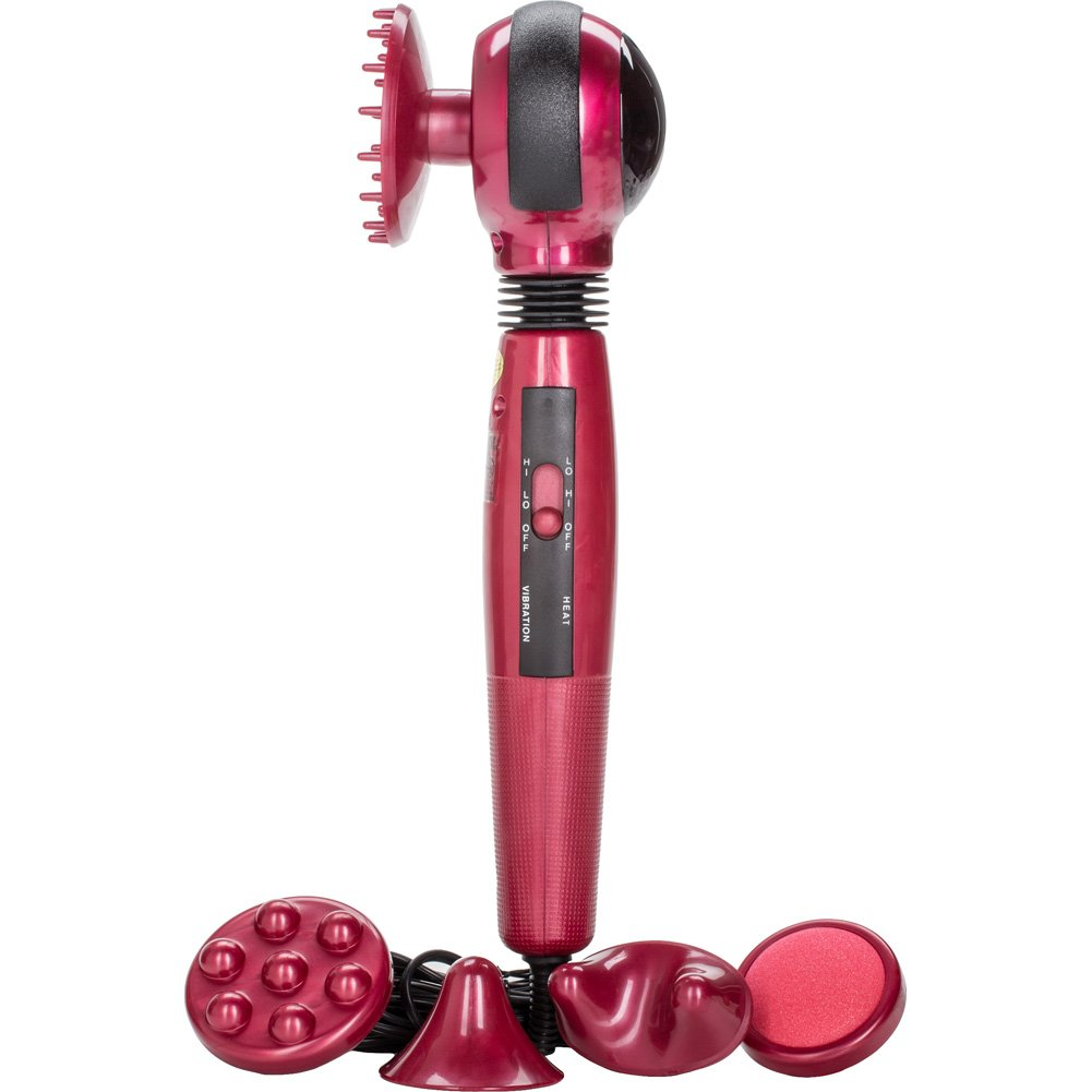 "California Exotics Infrared Electric Massager 12"" Red - View #2"