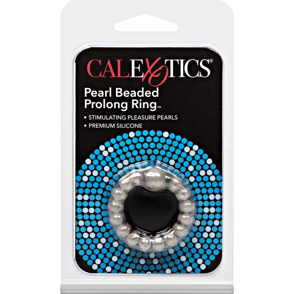 Pearl Beaded Prolong Ring 1.5 Smoke - View #1
