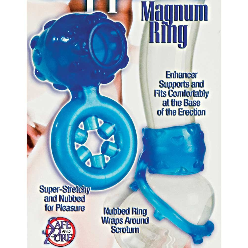 Sapphire Magnum Ring Blue - View #1