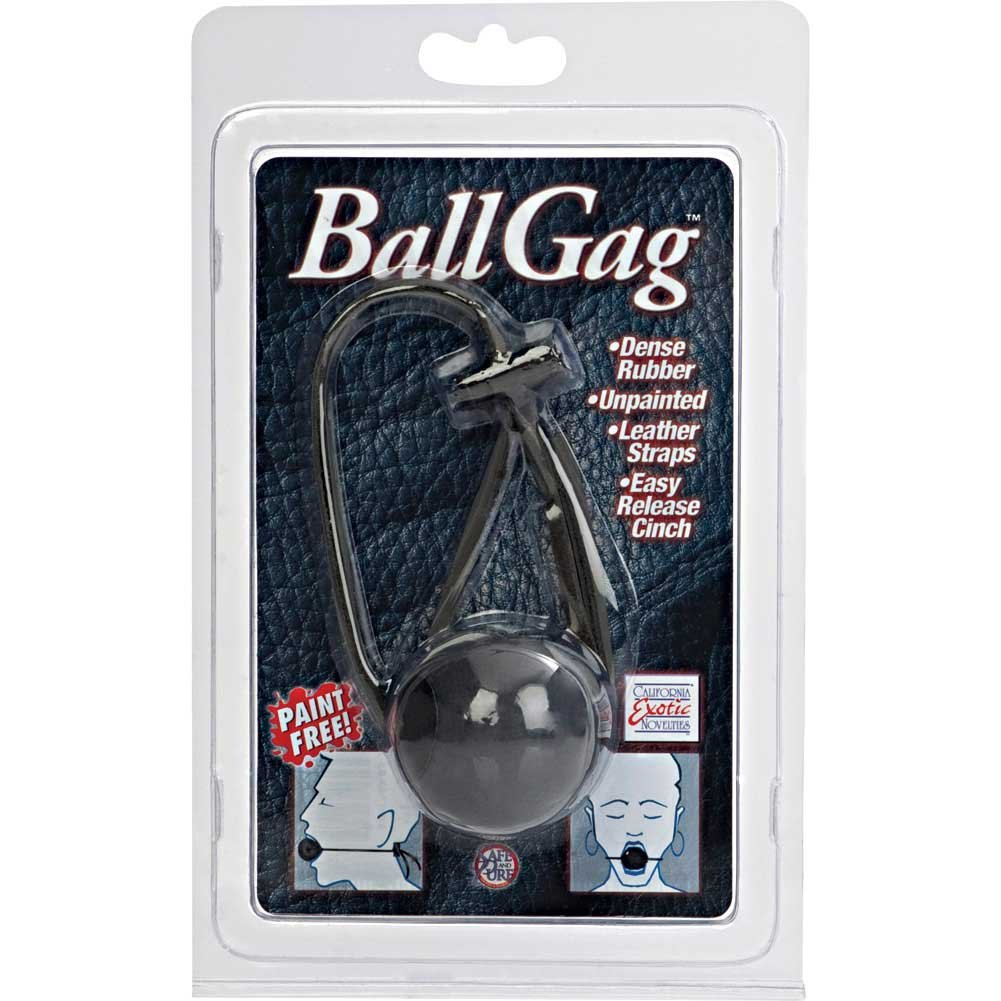 California Exotics Ball Gag Black - View #4