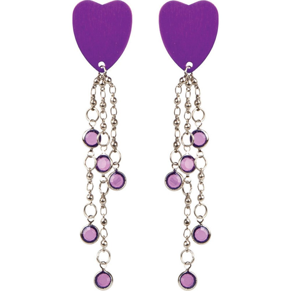 Body Charms Purple Hearts Body Jewelry - View #2