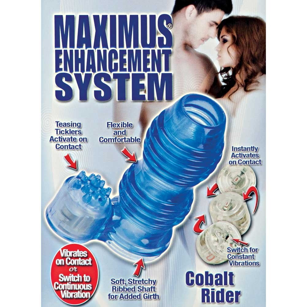 Maximus Enhancement System Cobalt Rider - Blue - View #1