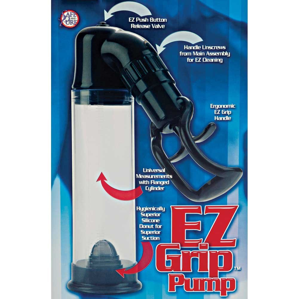 California Exotics EZ Grip Penis Pump Clear - View #1