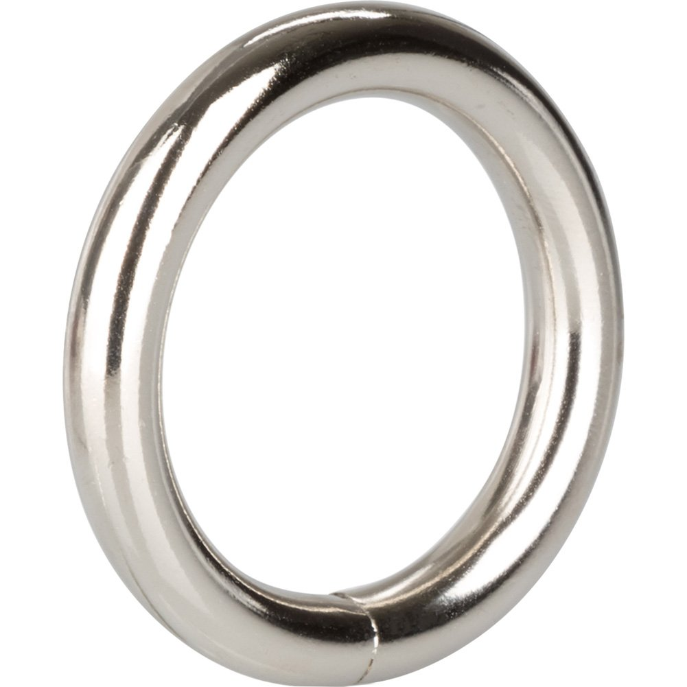 "Metal Cock Ring 1.25"" Silver - View #3"