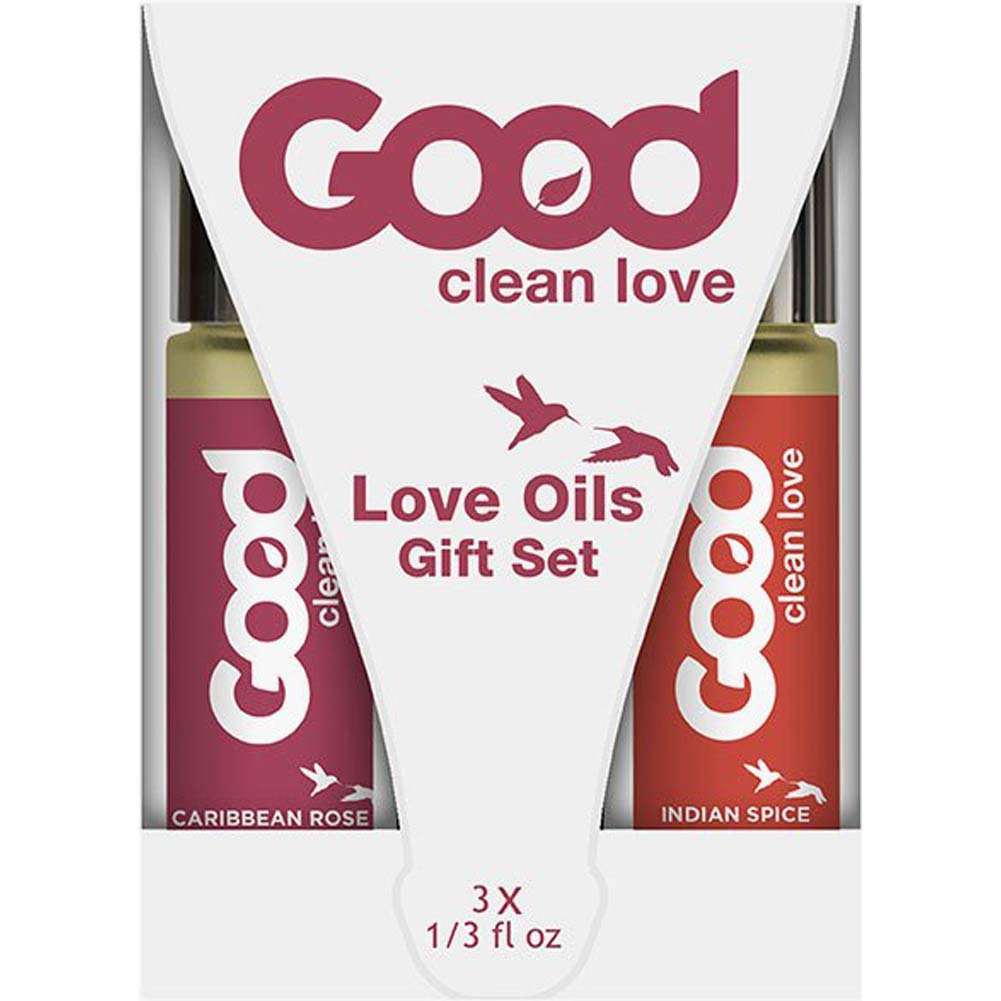 Good Clean Love Oil Gift Pack 3/Pk - View #2