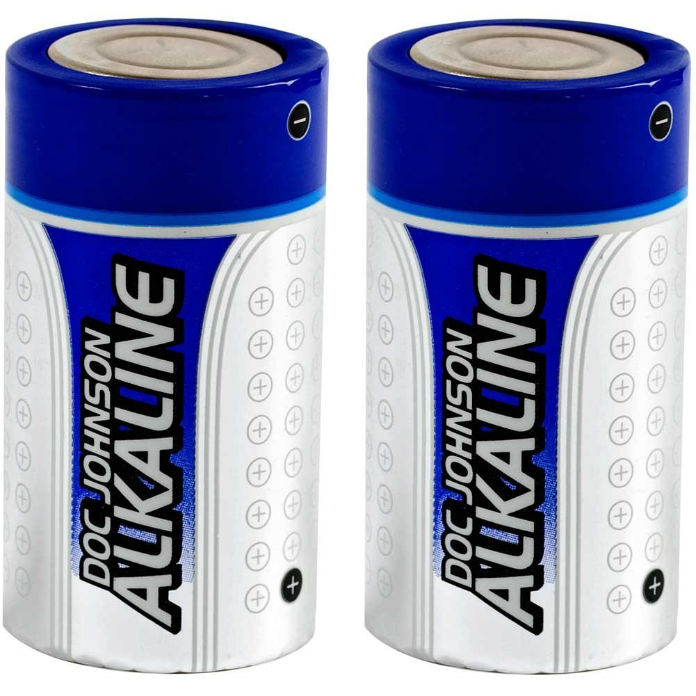Doc Johnson Alkaline C Batteries Pack of 2 - View #2