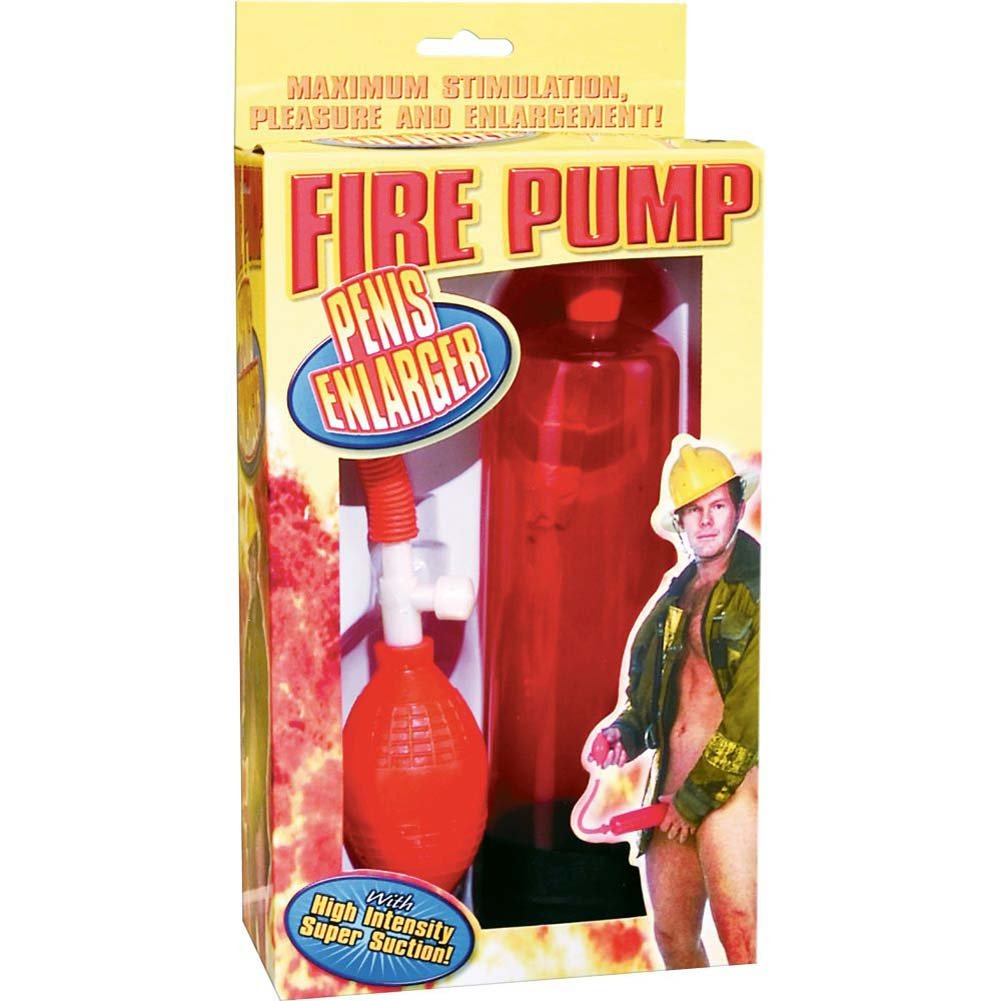 Pipedreams Fire Pump Penis Enlarger Red - View #2