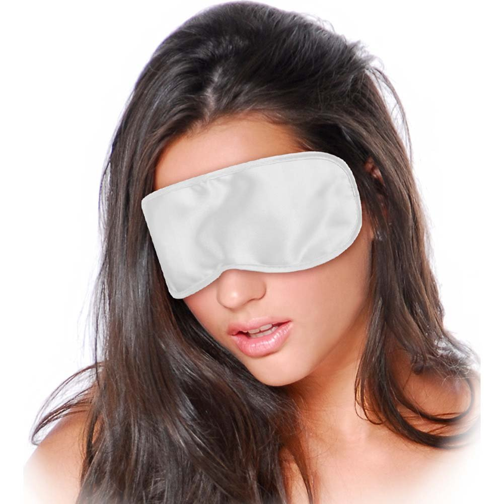 Pipedream Fetish Fantasy Series Satin Love Mask White - View #2
