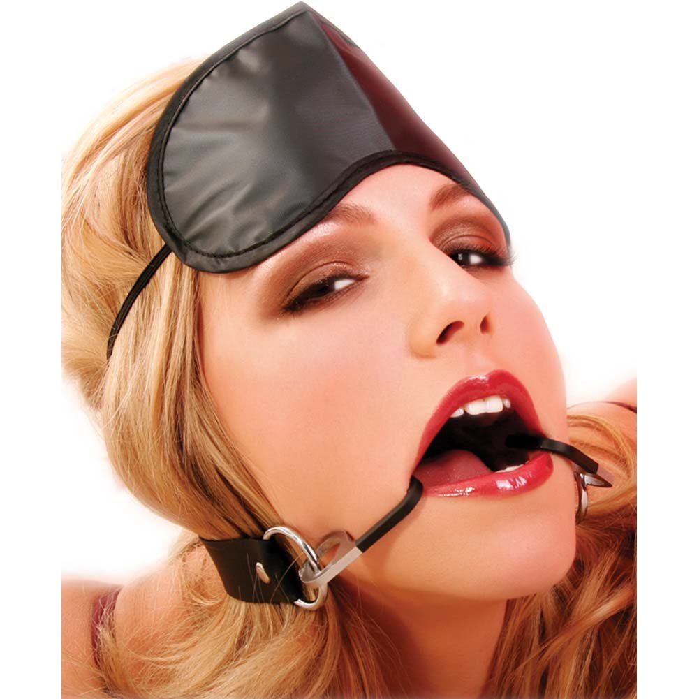 Pipedream Fetish Fantasy Series Double Fish Hook Restraint Gag - View #2