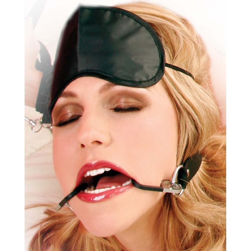 Pipedream Fetish Fantasy Series Double Fish Hook Restraint Gag - View #4