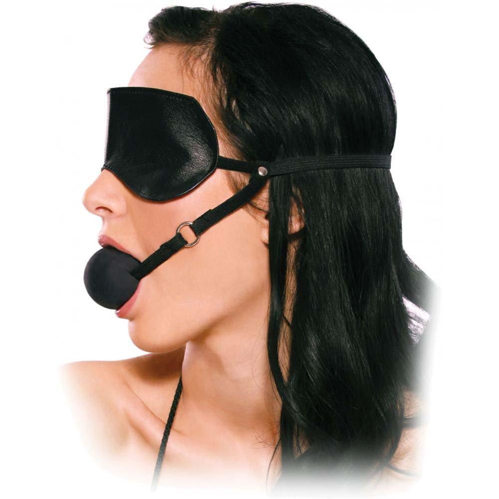 Fetish Fantasy Series Blindfold Ball Gag - View #1