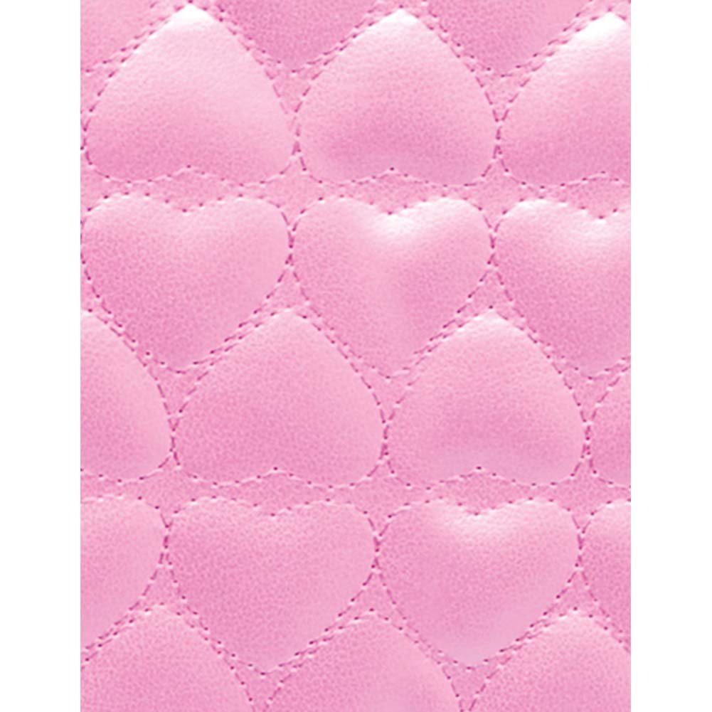 Pipedream Fetish Fantasy Series Quilted Heart Paddle Pink - View #3