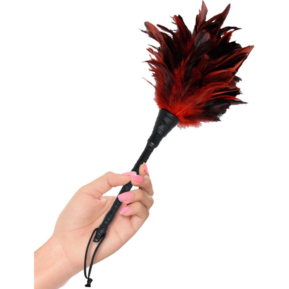 Pipedream Fetish Fantasy Series Frisky Feather Duster Red - View #1