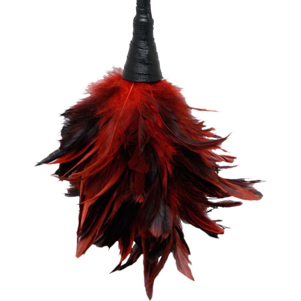 Pipedream Fetish Fantasy Series Frisky Feather Duster Red - View #3