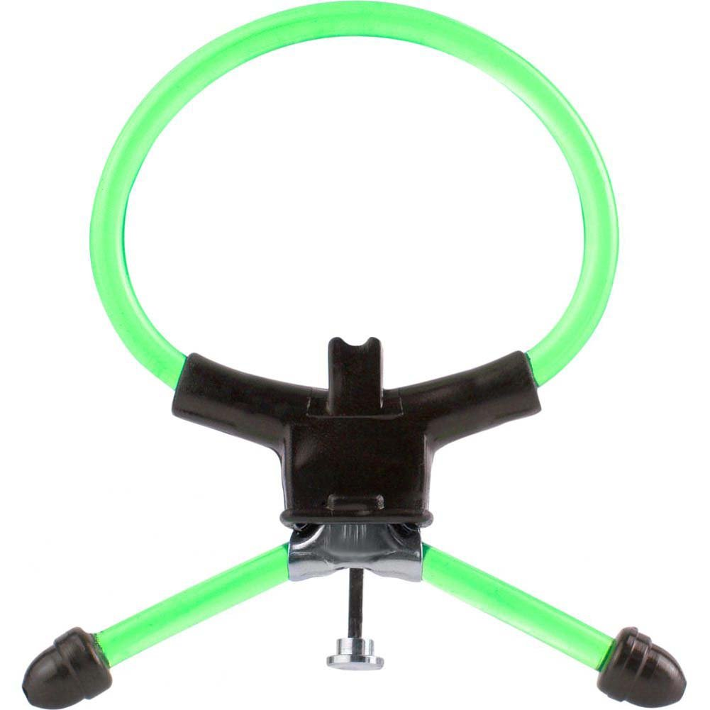 Pipedream M-16 Power Cock Ring Green - View #3