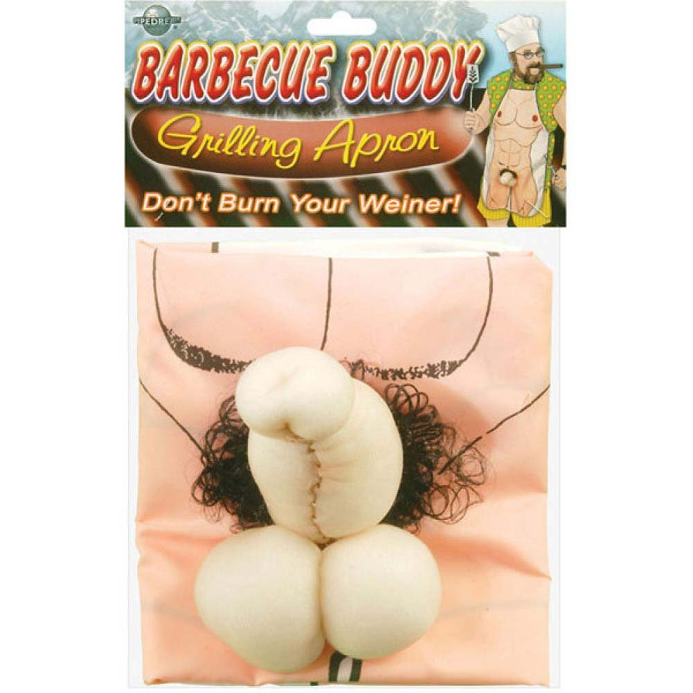 Barbeque Buddy Grilling Apron One Size - View #1