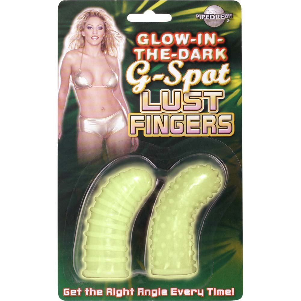 G-Spot Lust Fingers - Glow In The Dark - View #3