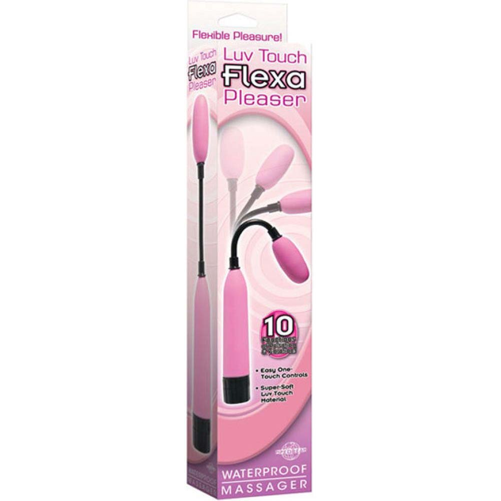 Luv Touch Flexa Pleaser Waterproof Massager - Pink - View #3