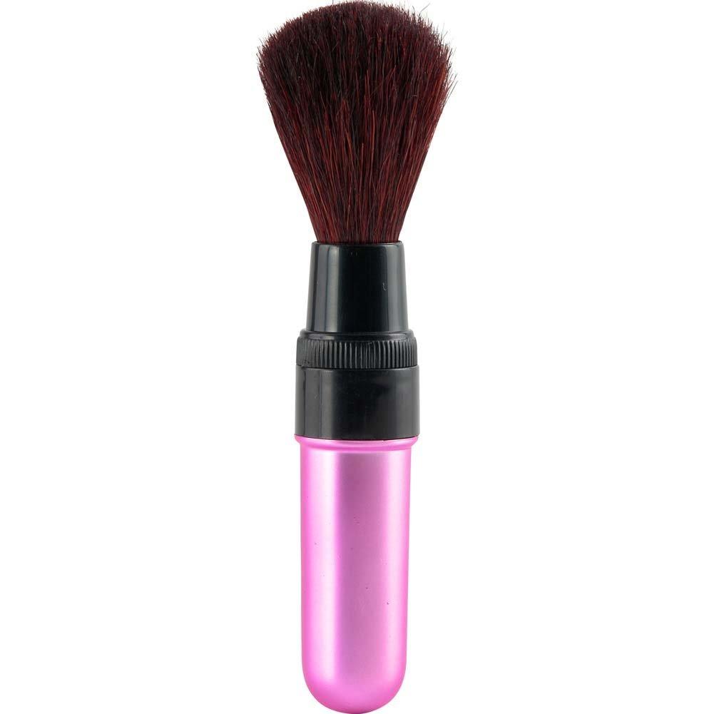 Vibrating Mini Makeup Brush Sensual Pink - View #2