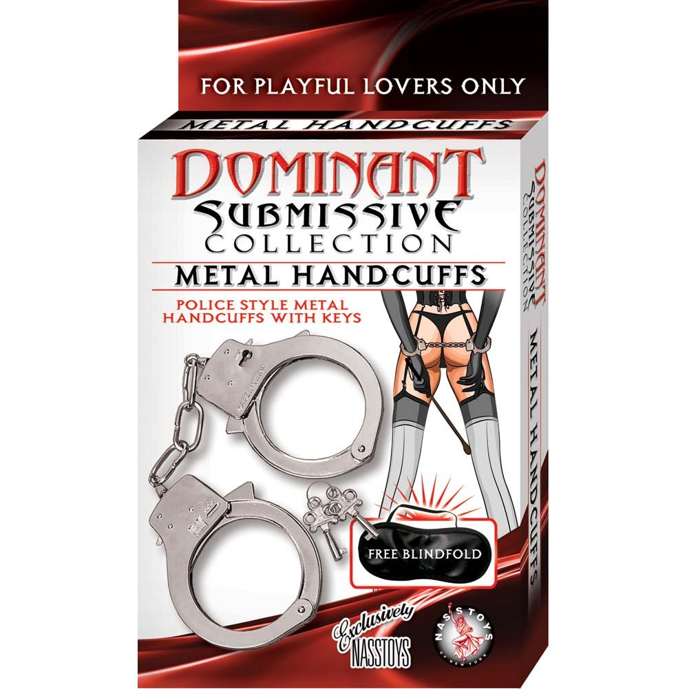 Dominant Submissive Collection Handcuffs - Metal - View #1
