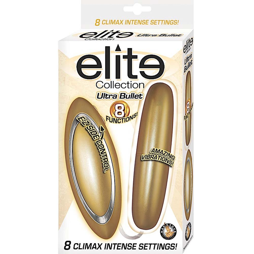 "Nasstoys Elite Collection Ultra Bullet Vibrator 4"" Gold - View #1"
