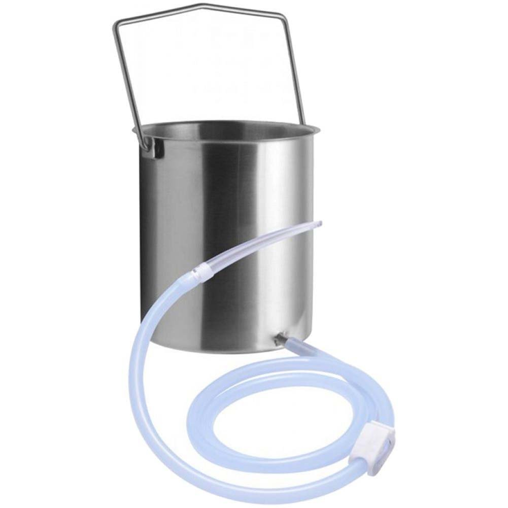 CleanStream Premium Enema Bucket Kit with Silicone Hose - View #2
