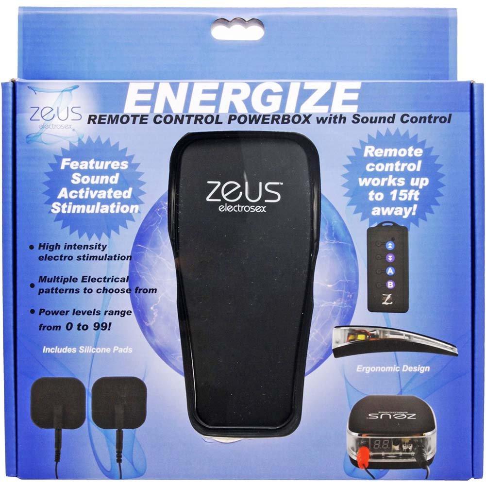 Zeus Electrosex Energize Remote Control Powerbox - View #4