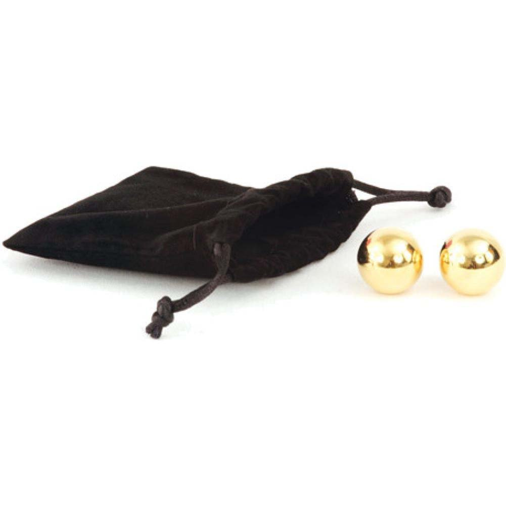 Classic Erotica Crazy Girl Wanna Be Excited 24K Golden Pleasure Balls - View #1