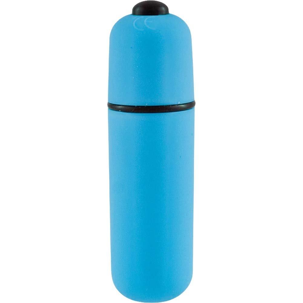 "SI Novelties BFF Waterproof Purse Pal Bullet Vibrator 2.5"" Blue - View #1"