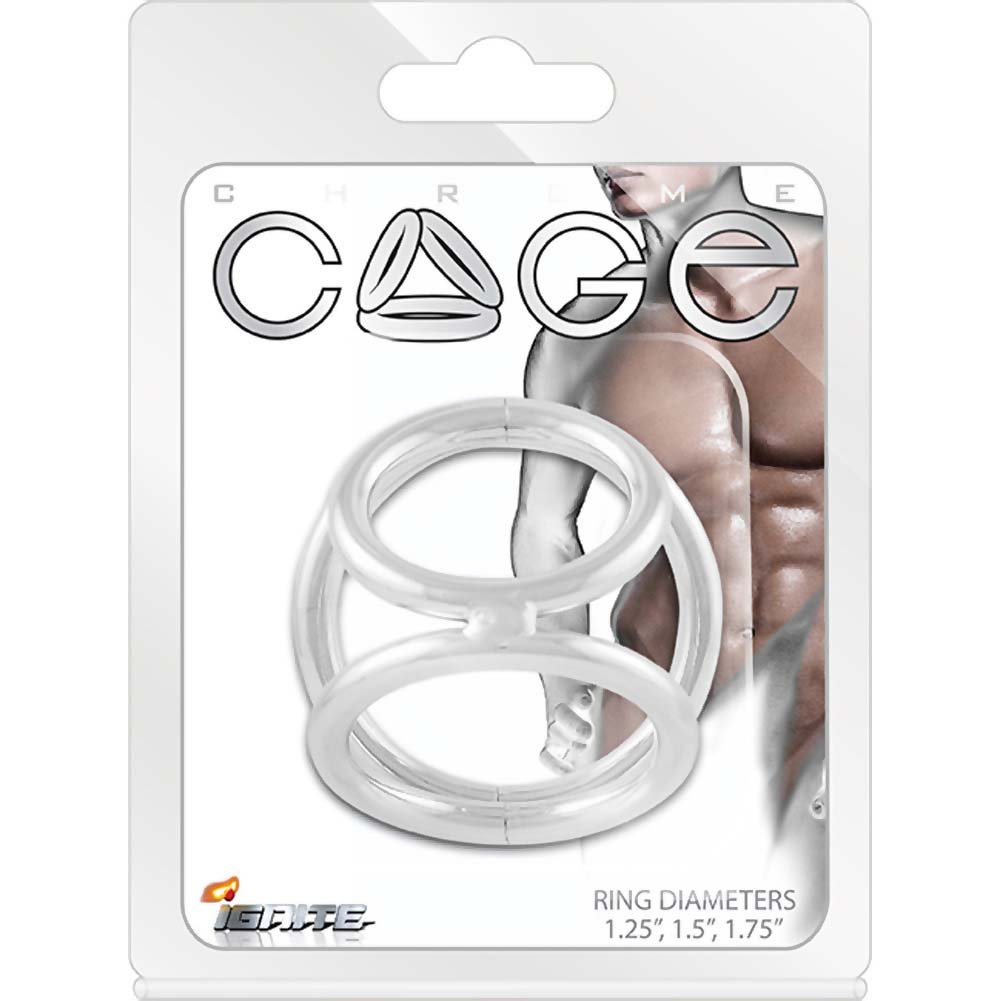 SI Novelties Metal Cage for Men Small 1.25 1.5 and 1.75 Rings - View #1