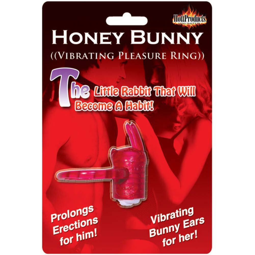 Hottproducts Horny Honey Bunny One Size Magenta - View #1