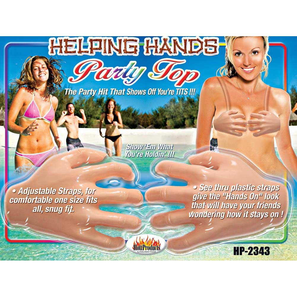 Hott Products Helping Hands Party Top - View #3