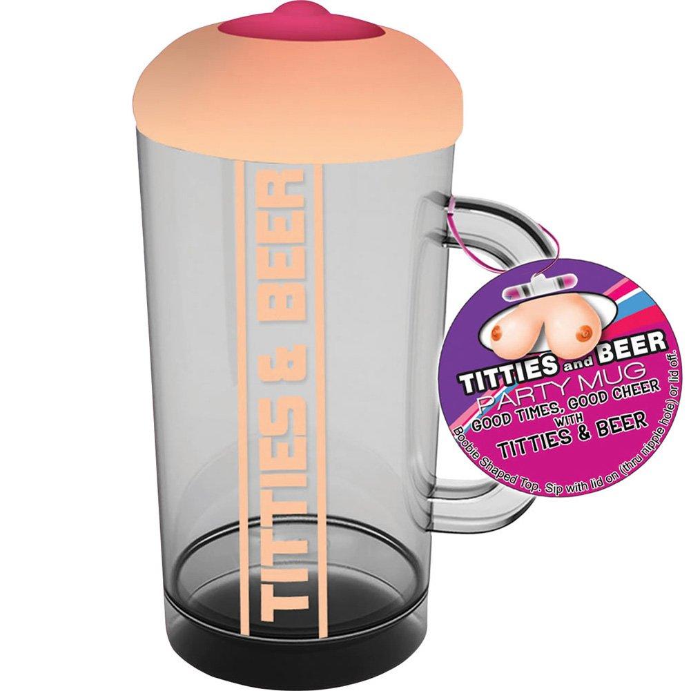 Hott ProductsTitties and Beer Boobie Beer Glass - View #1