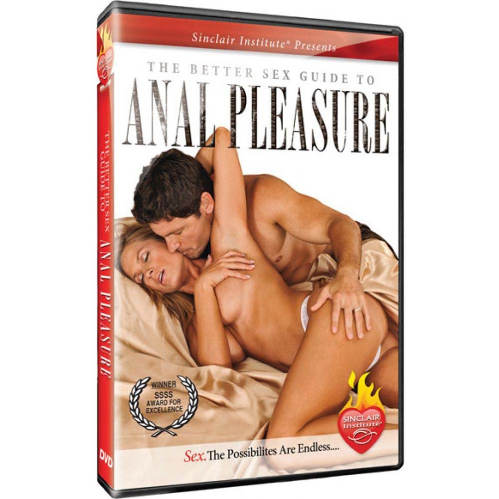 Sinclair Institute Sizzle Better Sex Guide to Anal Pleasures DVD - View #1