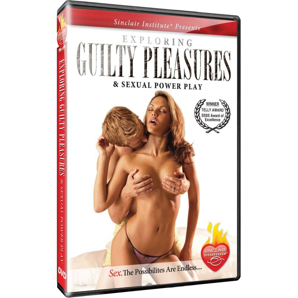 Sinclair Institute Sizzle Exploring Guilty Pleasures DVD - View #1