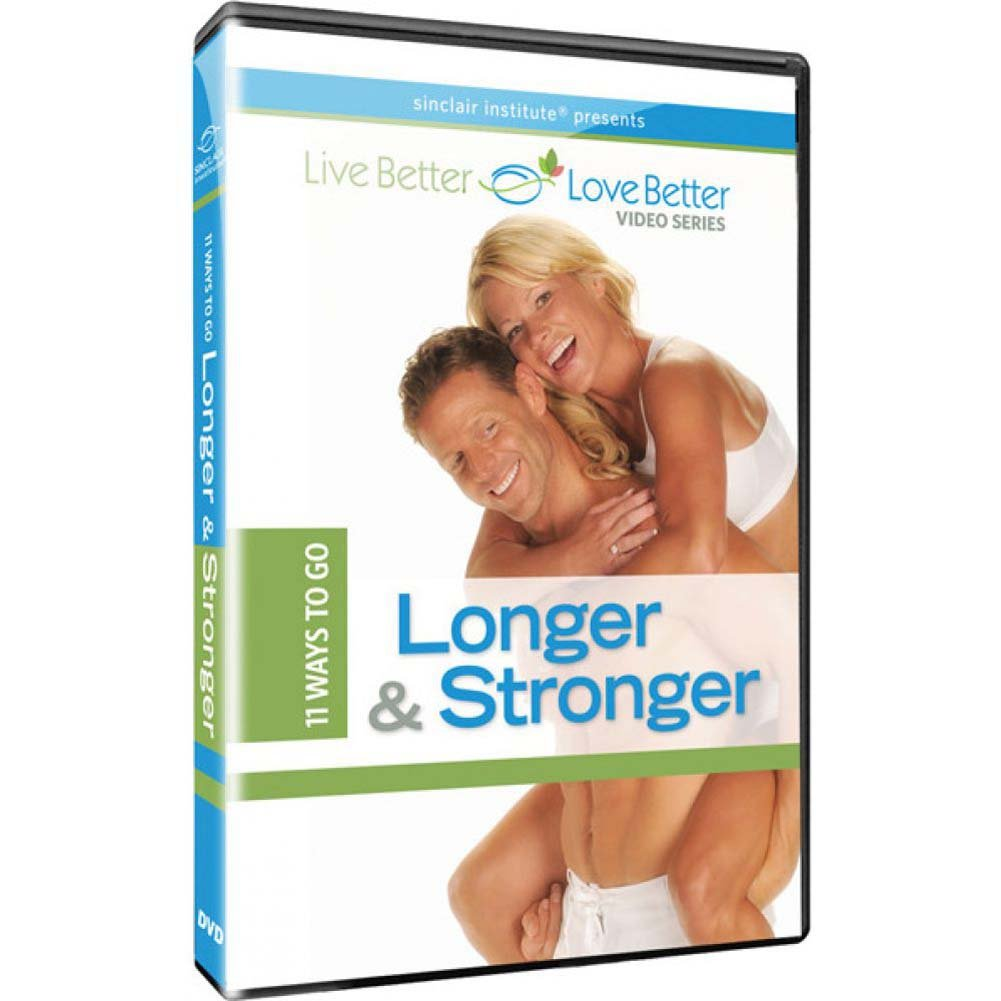 Sinclair Institute10 Ways to Go Longer and Stronger DVD - View #1