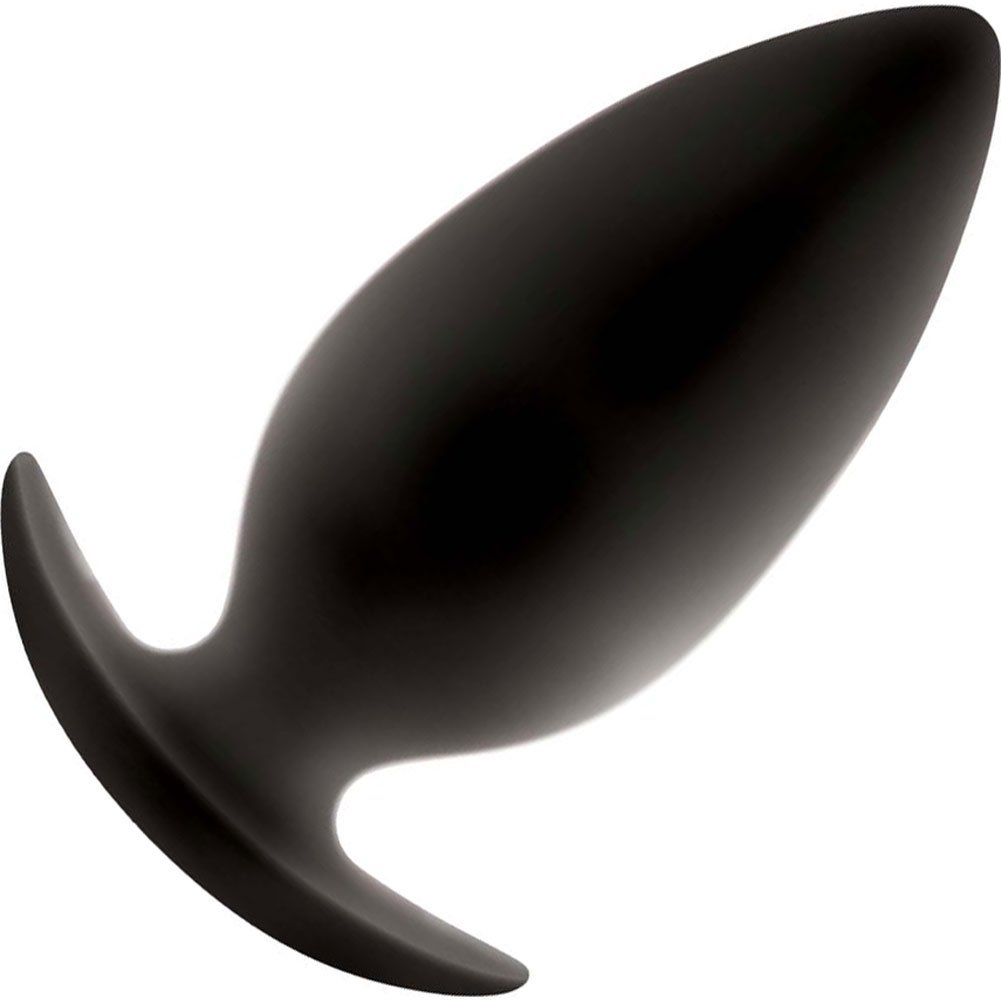 New Sensations Novelties Renegade Spade Butt Plug Large Black - View #2