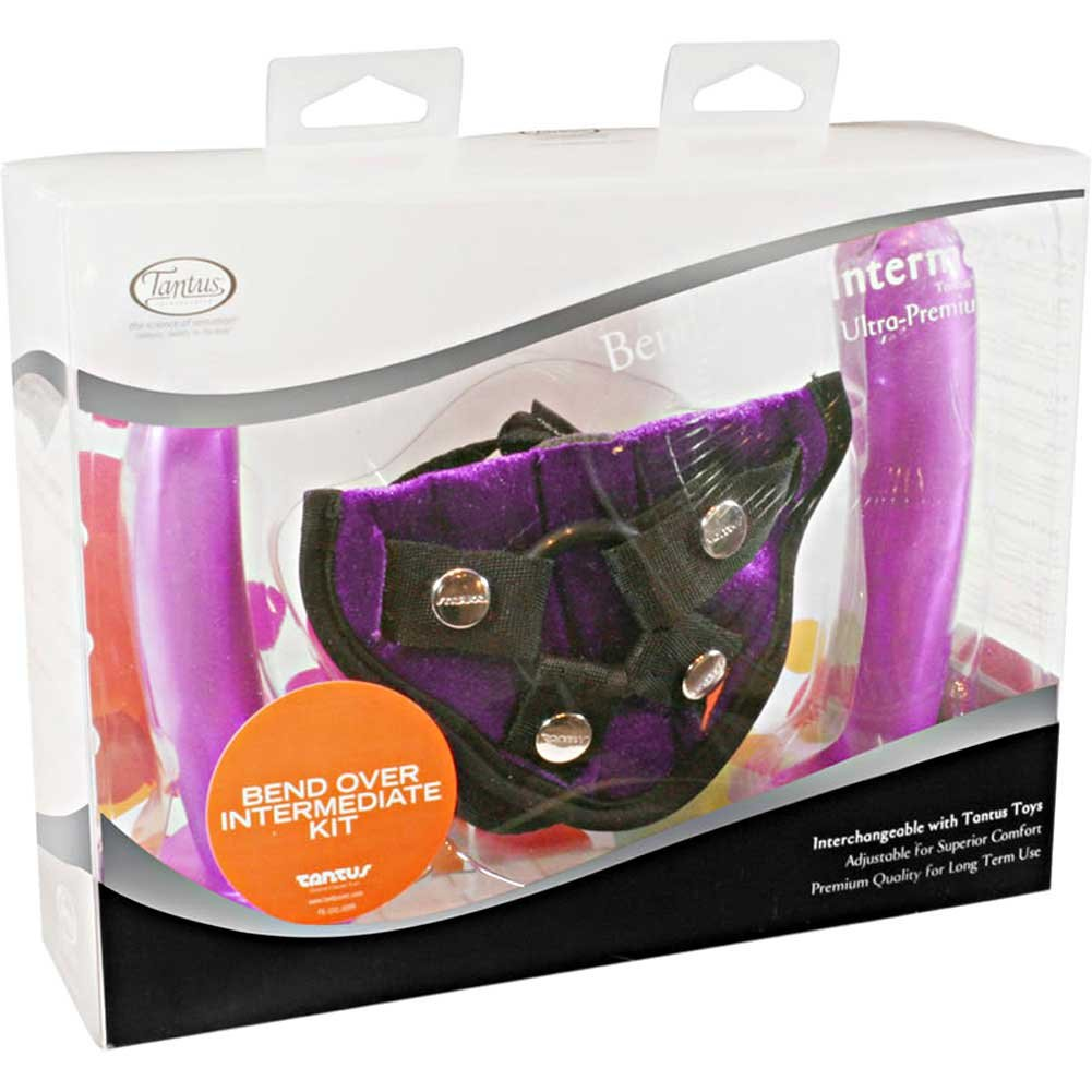 Tantus Bend Over Intermediate Harness Kit Purple - View #1
