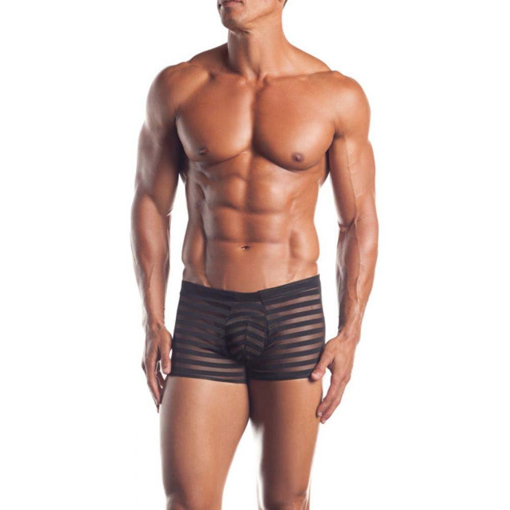 Joy Hollywood Excite Extreme Series Striped Mesh Boxer One Size Black - View #1