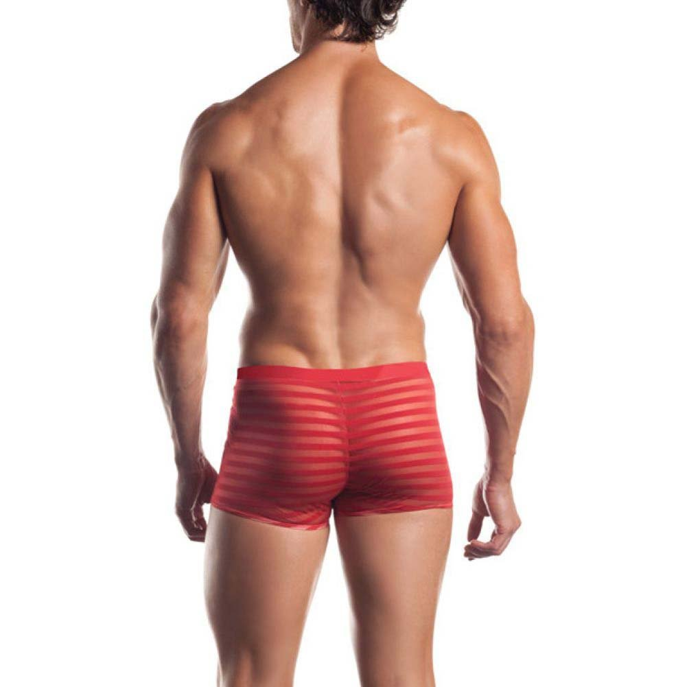 Joy Hollywood Excite Extreme Series Striped Mesh Boxer One Size Red - View #2